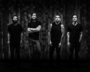 Silver Snakes: Michael Trujillo (bass), Jeremiah Bignell (guitars), Alex Estrada (vocals, guitar), Garrett Harney (drums).