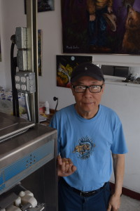 Covina Tasty owner Mark Tsai has been running  the Covina ice cream shop for more than 30 years. (Elizabeth Alcarez/Logos)