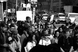 No DAPL rally and march in Los Angeles - protectors