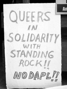 No DAPL rally and march in Los Angeles - queers in solidarity