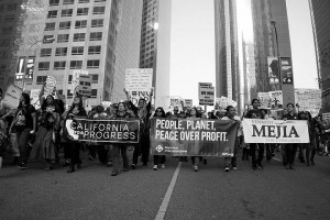 No DAPL rally and march in Los Angeles