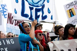 No DAPL rally and march in Los Angeles - water is life