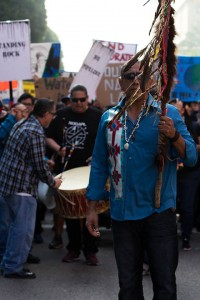 No DAPL rally and march in Los Angeles - spirit staff